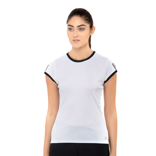 Women's adidas Tennis Club 3-Stripes Tee