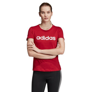 Women's adidas Essentials Linear Slim Tee