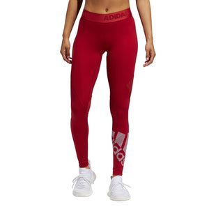 Women's adidas Training Alphaskin Badge of Sport Tights