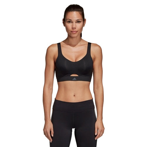 WOMEN'S ADIDAS TRAINING STRONGER FOR IT SOFT PRINTED BRA