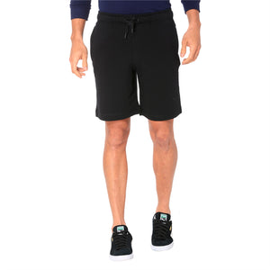Zippered Terry Shorts
