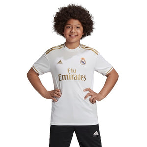 Kids-Boys adidas Football Real Madrid Home Jersey