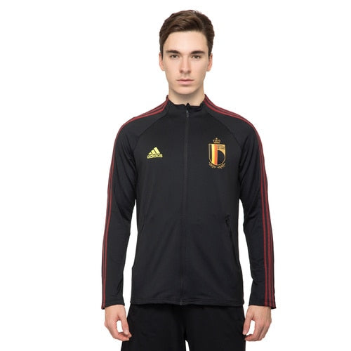 Men's adidas Football Belgium Anthem Jacket