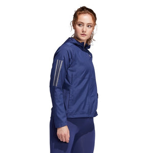 Women's adidas Running Own the Run Hooded Wind Jacket