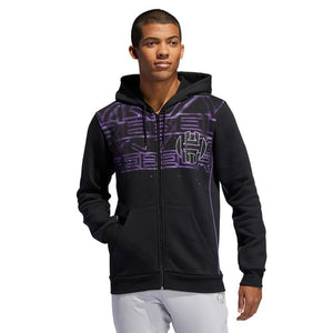 Men's adidas Basketball Harden Star Wars Full-Zip Hoodie