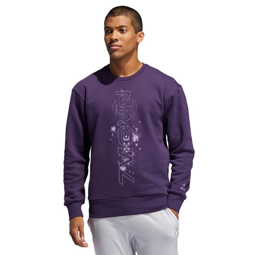 Men's adidas Basketball Harden Star Wars Auerbesh Crew Sweatshirt