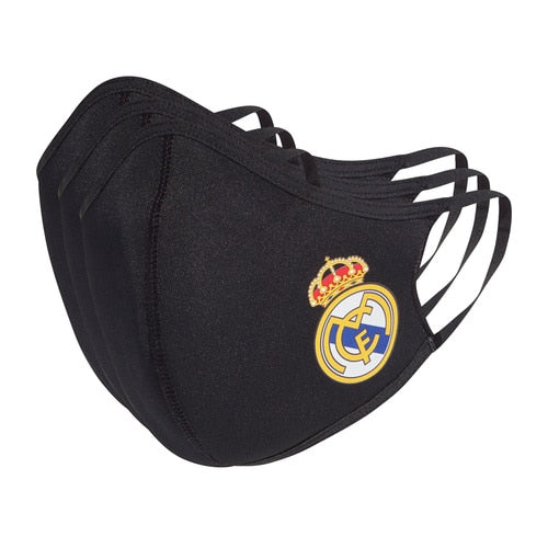Unisex adidas Football Real Madrid Face Covers M/L 3-Pack