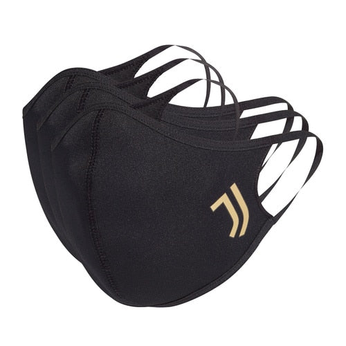 Unisex adidas Football Juventus Face Covers M/L 3-Pack