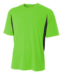 5050 Cooling Performance Color Block Tee - 5050 Soccer