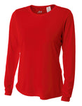 5050 Women's Long Sleeve Cooling Performance Crew