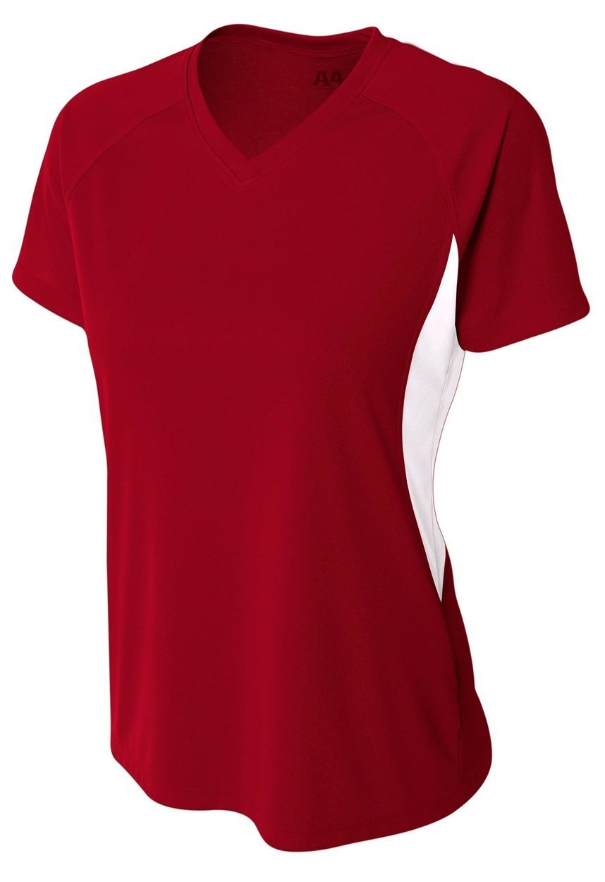 5050 Women's Color Blocked Performance V-Neck - 5050 Soccer