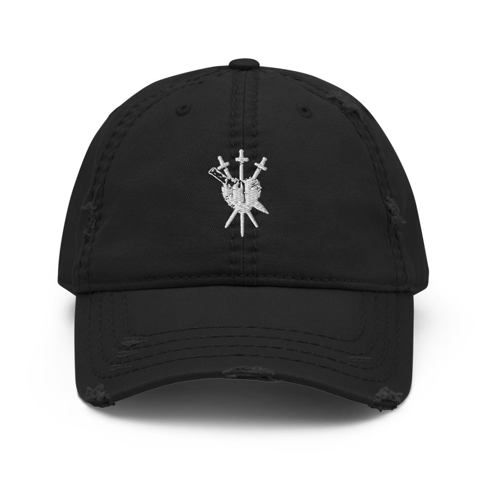 Stake Through My Love Distressed Hat