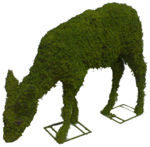 Topiary Deer eating (Doe)