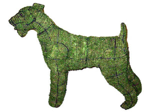 Topiary Dog Airedale Terrier