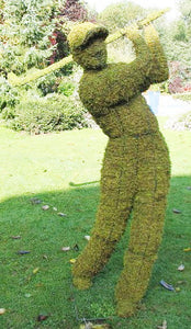 Topiary Golfer