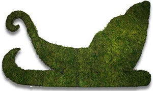 Topiary Sleigh wall mounted