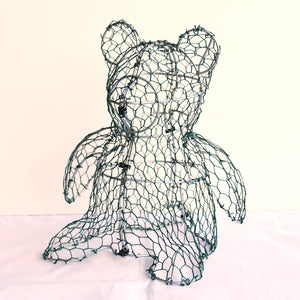 Teddy Bear Frame /  : Medium : 28cm High (exc pot)