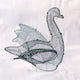 Swan Frame - Extra Large - 55cm High