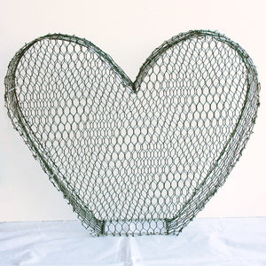 Heart 2D Frame - Medium - 26cm High