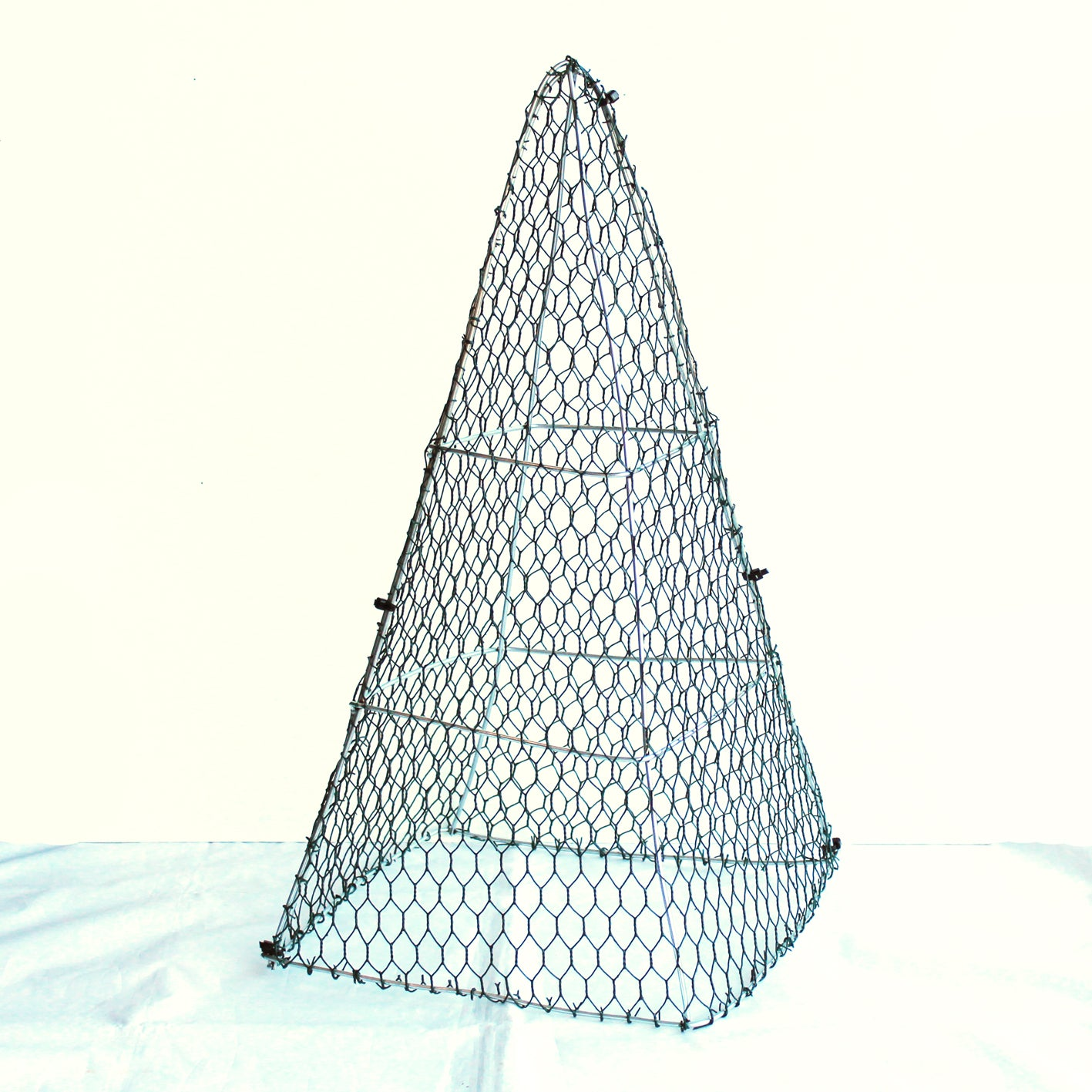 Egyptian Pyramid Frame Large 50cm High Top Topiary