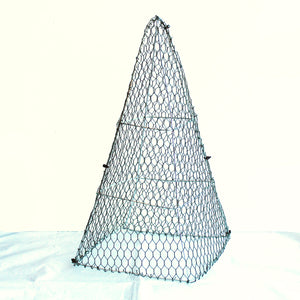 Egyptian Pyramid Frame /  : Large : 50cm High (exc pot)