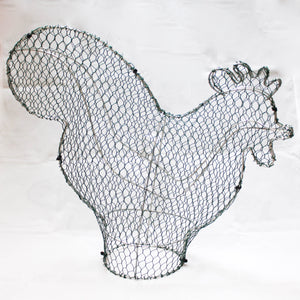 Cockerel/Rooster Frame - Medium - 28cm High