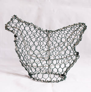 Chicken/Hen Frame /  : Small : 18cm High (exc pot)