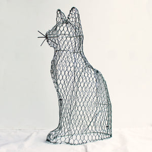 Cat Frame /  : Large : 46cm High (exc pot)