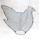 Chicken/Hen Frame /  : Large : 44cm High (exc pot)