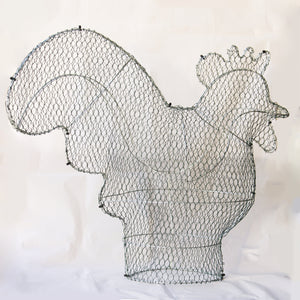 Cockerel/Rooster Frame /  : Xtra Large : 65cm High (exc pot)