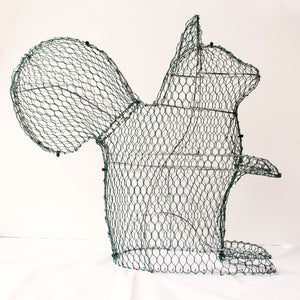 Squirrel Frame /  : Large : 49cm High (exc pot)