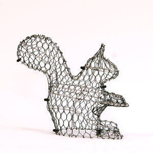 Squirrel Frame /  : Small : 22cm High (exc pot)