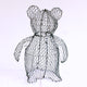 Teddy Bear Frame /  : Large : 38cm High (exc pot)