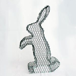 Rabbit 2D Frame /  : Large : 47cm High (exc pot)