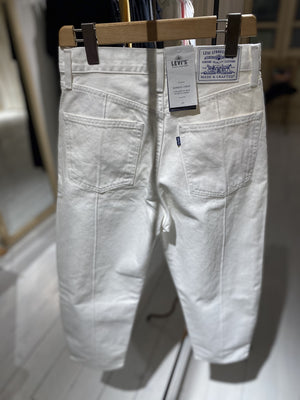 Denim Barrel - LEVIS MADE AND CRAFTED - white