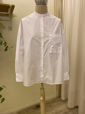 Camicia Ghorky Shirt - BELLEROSE _ WHITE