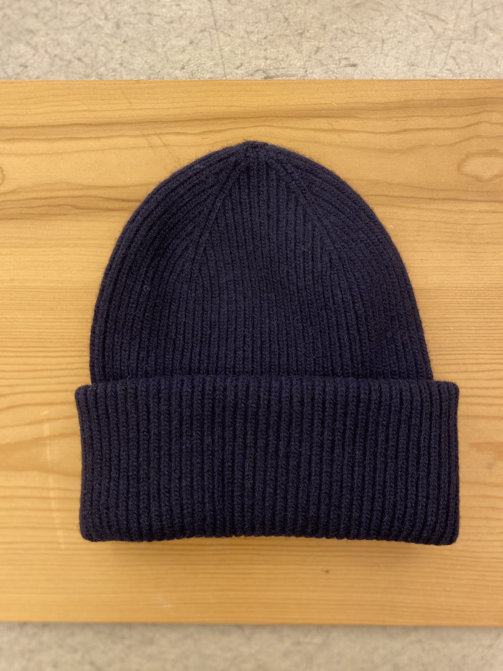 Beanie Hat COLORFUL STANDARD - Blue