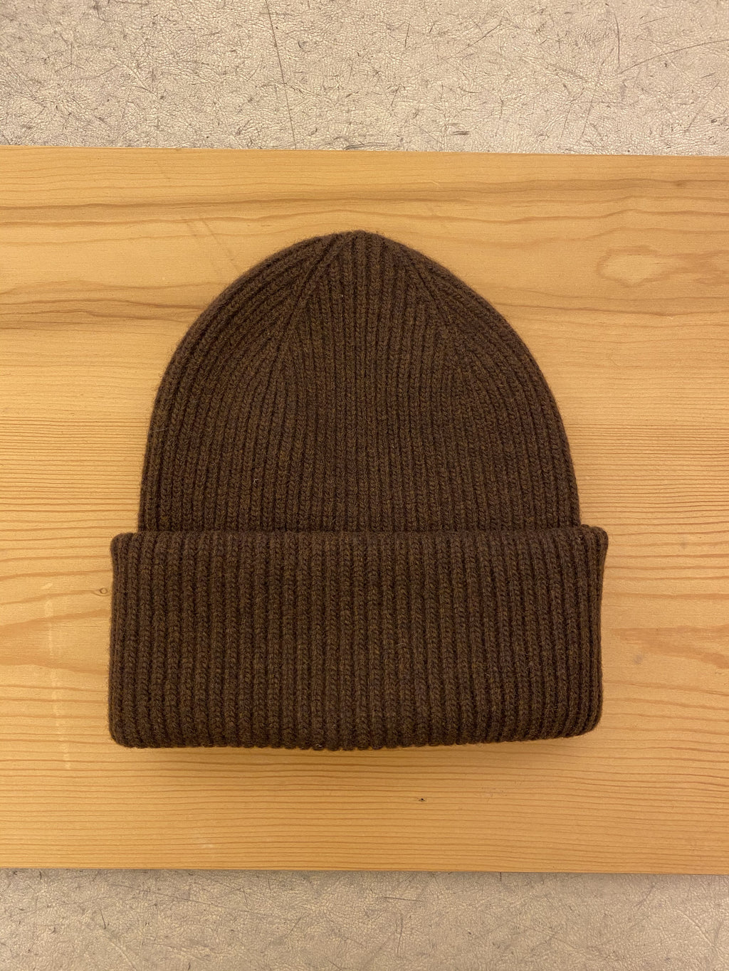 Beanie Hat COLORFUL STANDARD - Chocolate