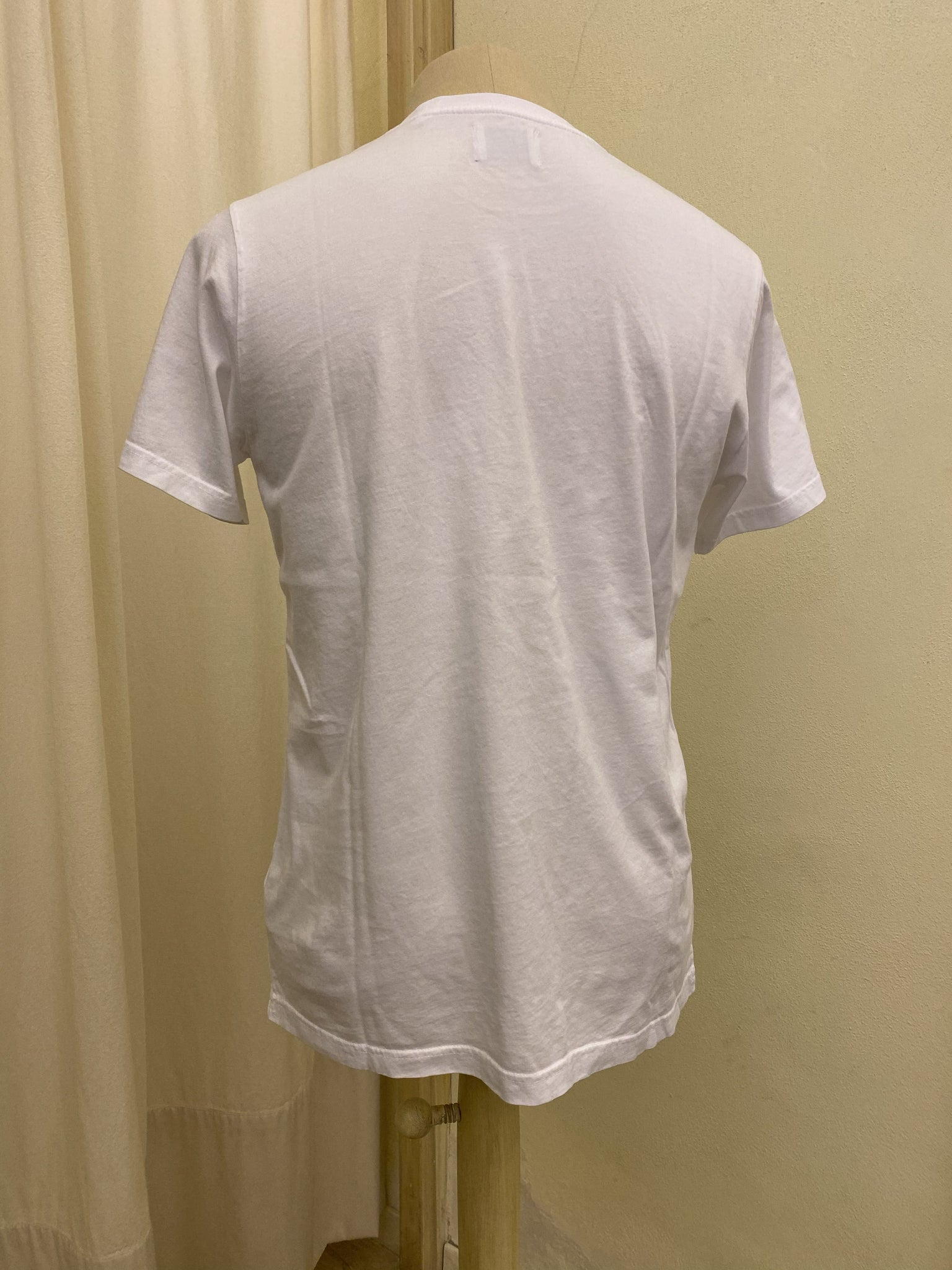 T-SHIRT COLORFUL STANDARD - WHITE
