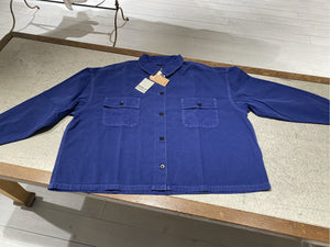 W Giacca Camicia Worker Oversized - PARRISH - Bellerose - Royal