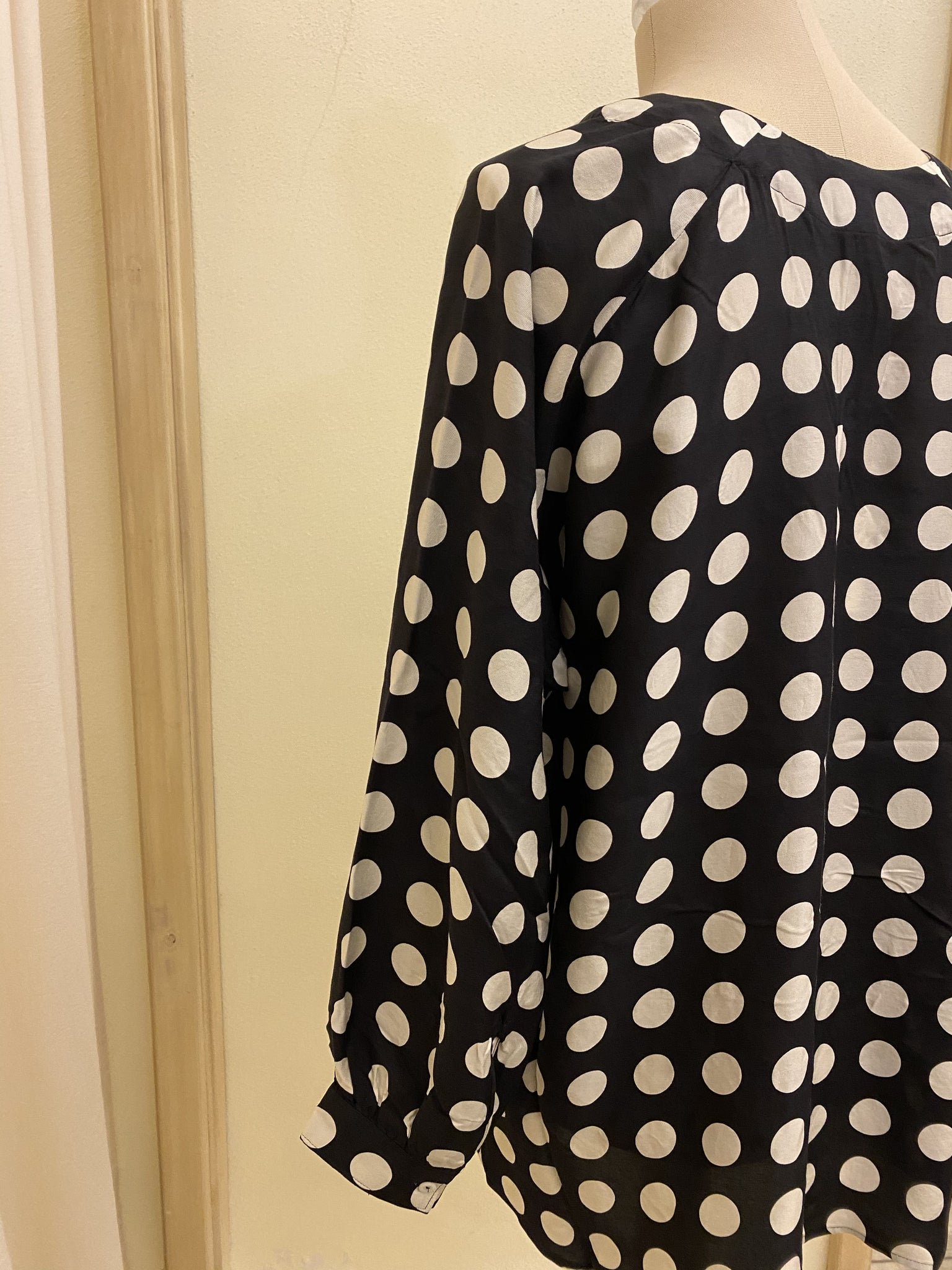 Casacca Dots Black / Milk