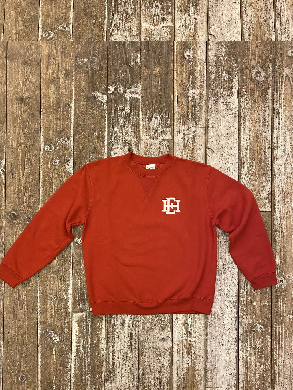 Felpa Swtshirt EAST HARBOUR SURPLUS / Wild Donkey - Red