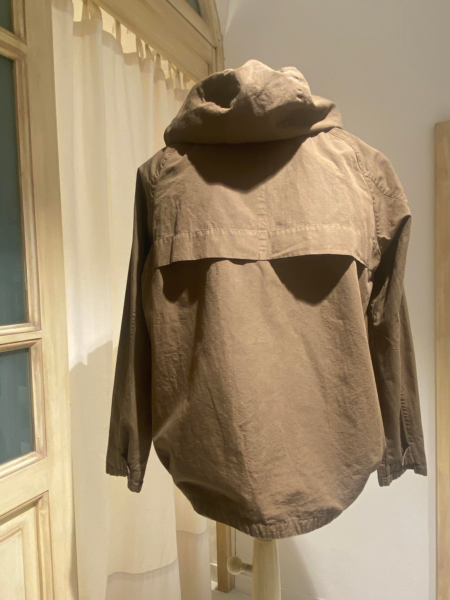 M HOODED JKT - PS PAUL SMITH - ARMY GREEN