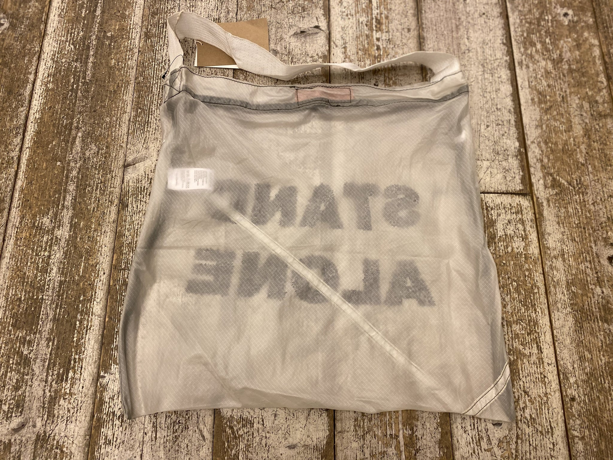 Shopping Bag STAND ALONÉ Off White