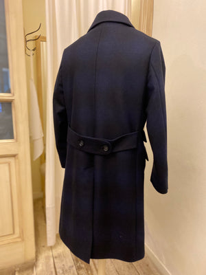 DOLPHIN COAT - FORTELA - Blue/Black