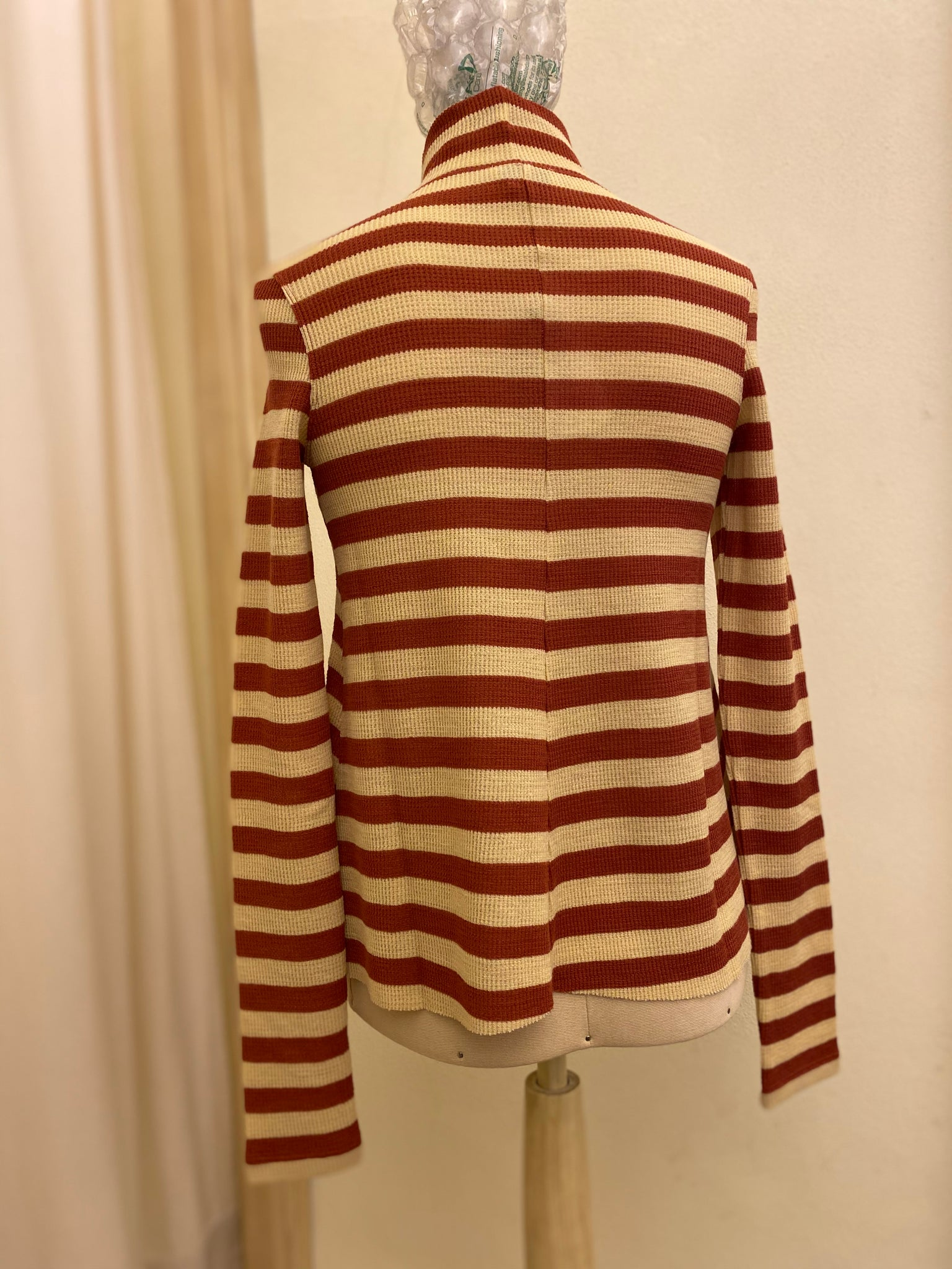 T-shirt Dolcevita Maglia Lana FORTE FORTE Stripes Red