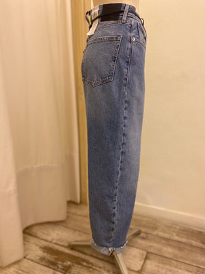 Denim Barrel Crop Levi's Made & Crafted