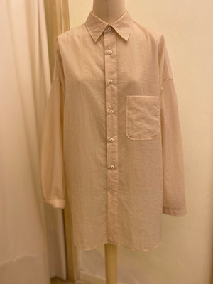 """Camicia Over"" Long Sleeves - Stand Alone SS20 SAND"