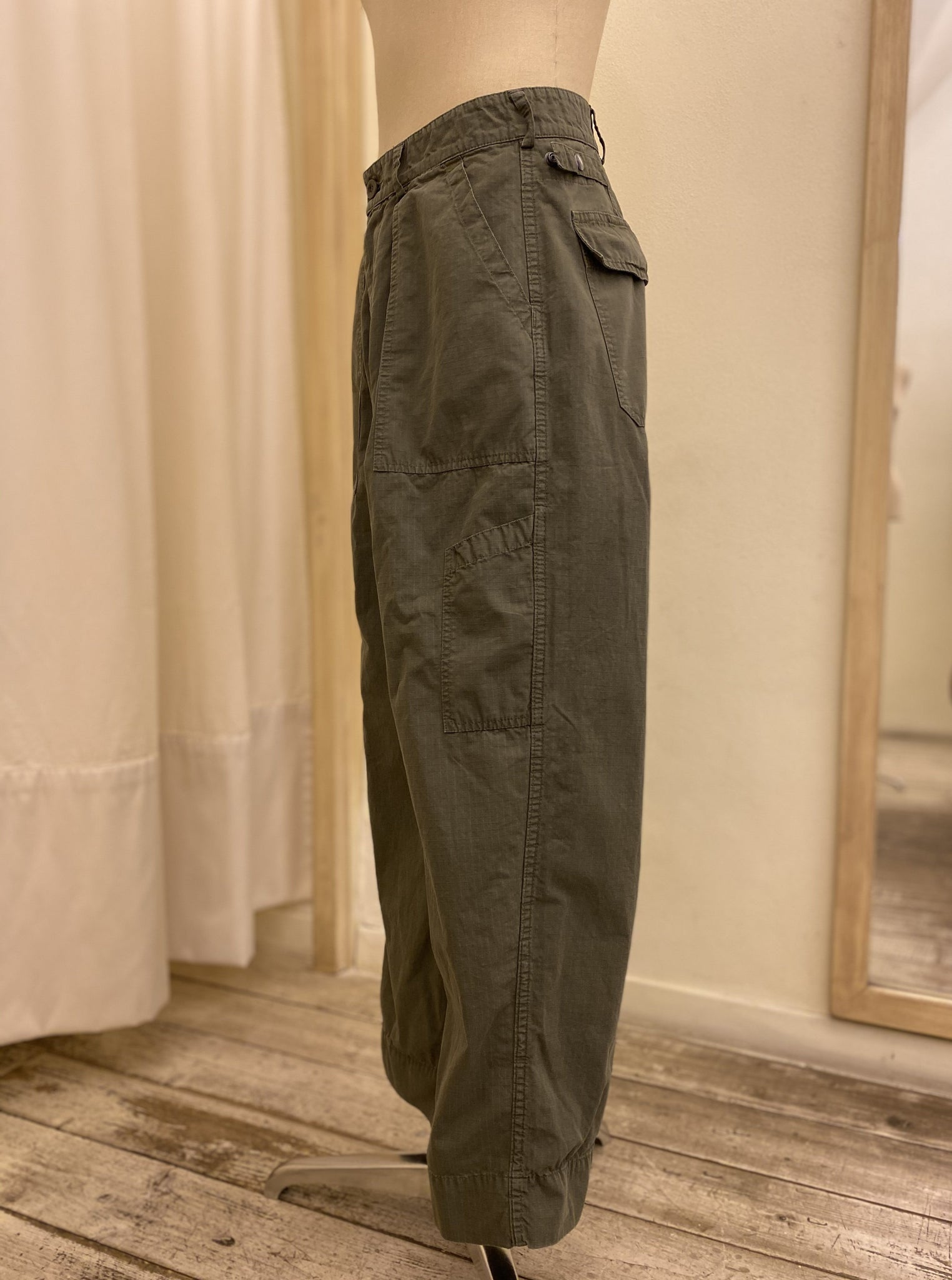 Pantalone Cargo East Harbour Surplus SS20 Military Green