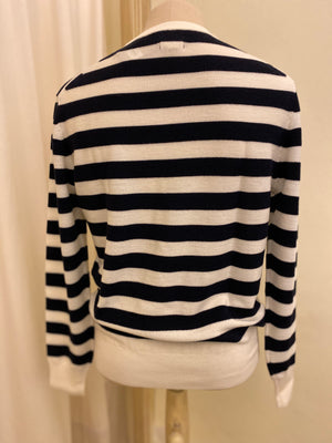 Maglia Manica Lunga BELLEROSE SS20 Black/Milk Stripes